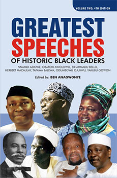 Greatest speeches  of historic black leaders – Volume 2