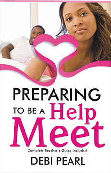 Preparing  To Be A Help Meet: Complete Teacher's Guide By Shalom Brand Inside