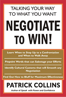 Negotiate to win! – Talking Your Way To What You Want